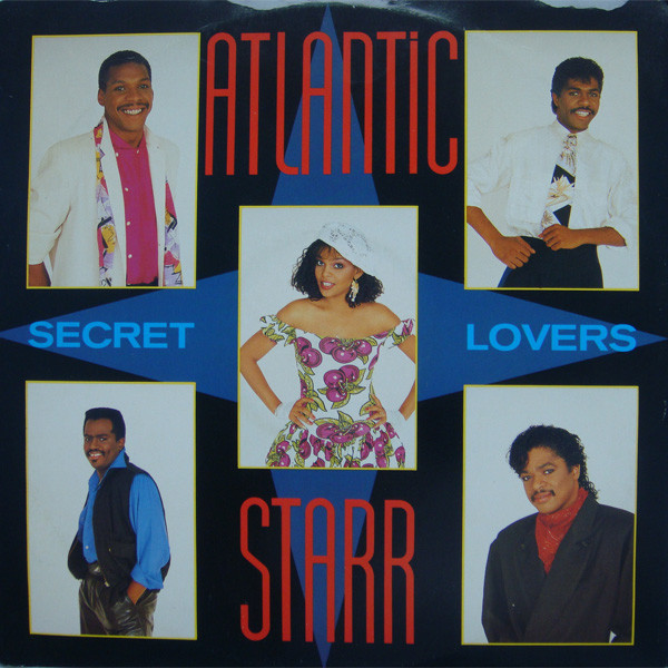 Atlantic Starr Secret Lovers Vinyl