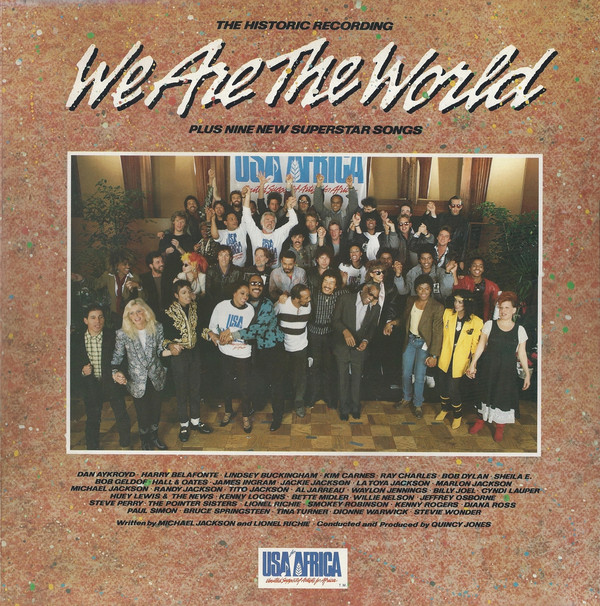 Various We Are The World Vinyl