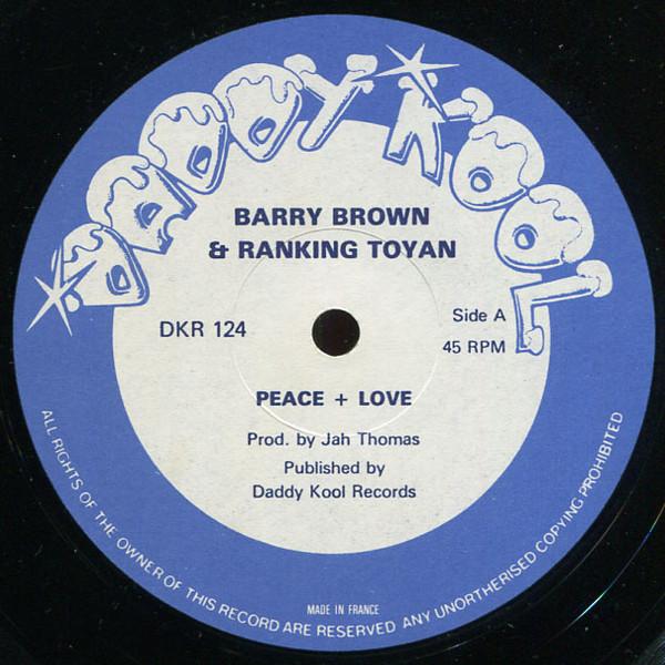 Barry Brown & Ranking Toyan* / Jah Thomas & Roots Radics Peace & Love / Adapter Chapter Vinyl