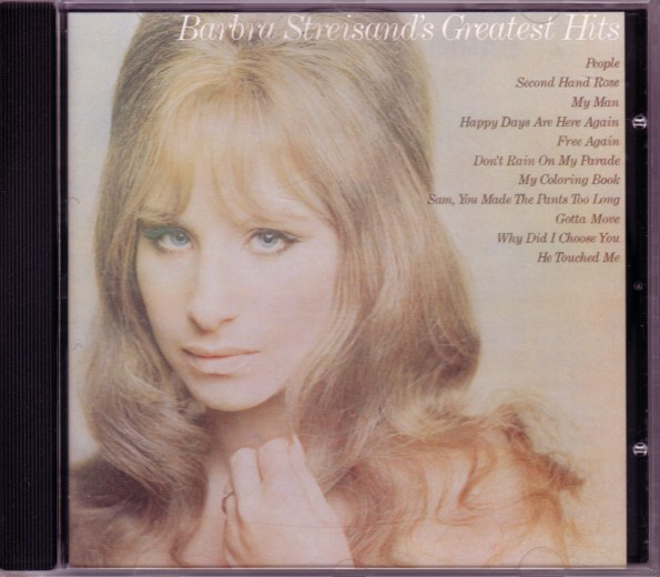 Barbra Streisand Greatest Hits CD