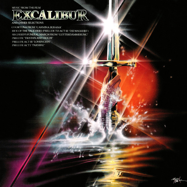 Various Music From The Film Excalibur And Other Selections Vinyl