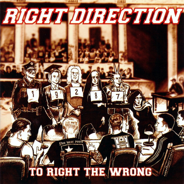 Right Direction To Right The Wrong CD