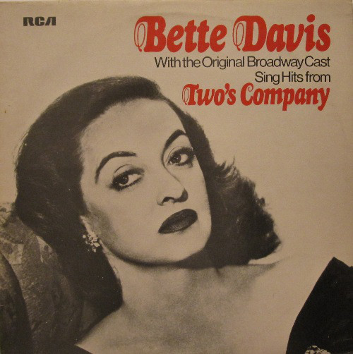 Davis, Bette With The Original Broadway Cast Sing Hits From Two's Company Vinyl