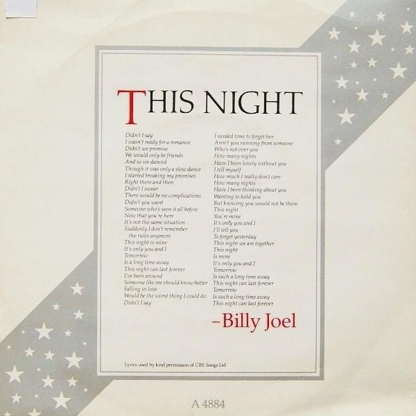 Joel, Billy This Night