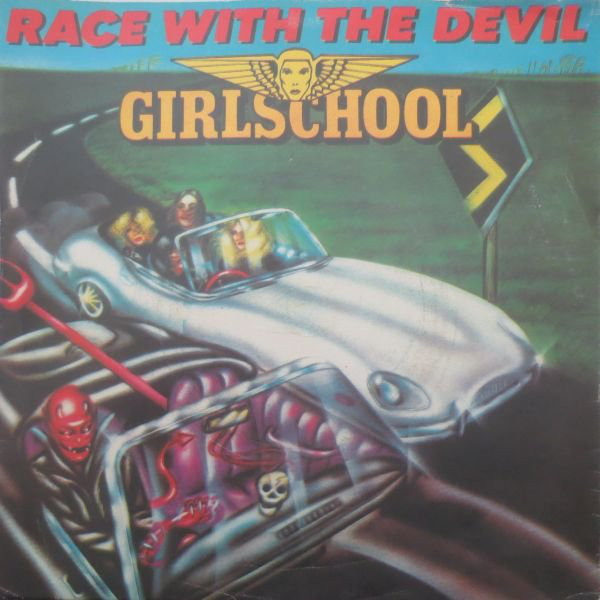 Girlschool Race With The Devil