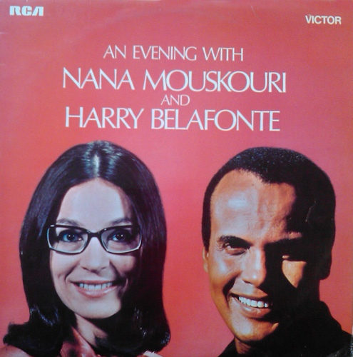 Mouskouri, Nana And Harry Belafonte An Evening With Nana Mouskouri And Harry Belafonte Vinyl