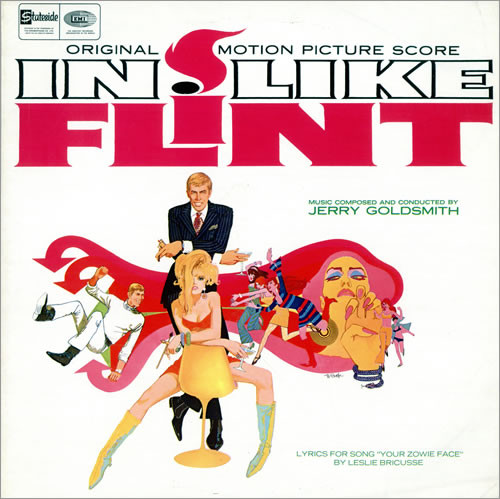 In Like Flint Jerry Goldsmith Vinyl