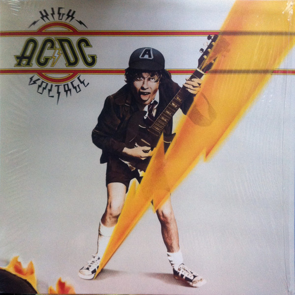 AC/DC High Voltage Vinyl