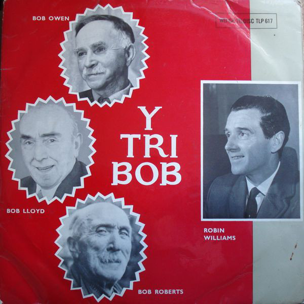 Robin Williams Y Tri Bob Vinyl