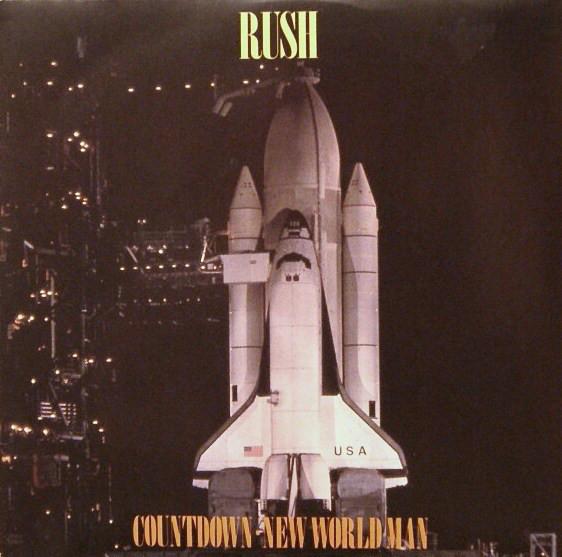 Rush Countdown / New World Man