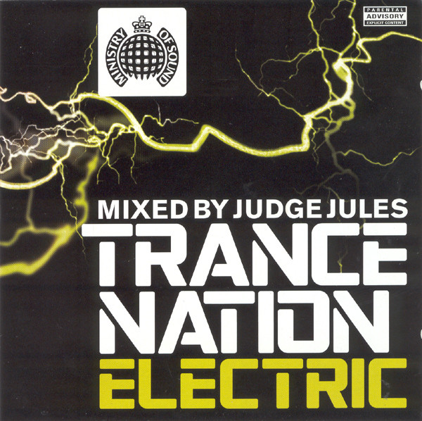 Various Trance Nation Electric CD