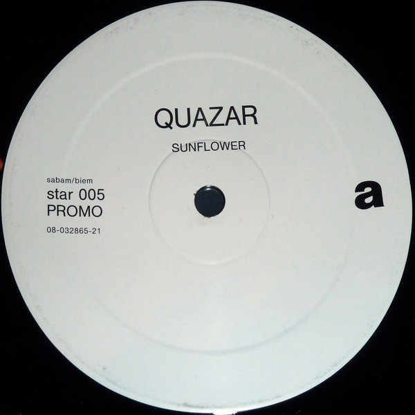 Quazar Sunflower Vinyl