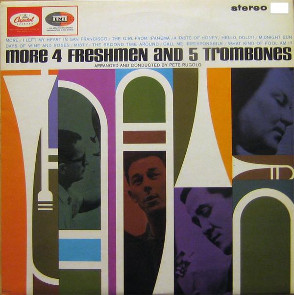 The Four Freshmen More 4 Freshmen And 5 Trombones Vinyl