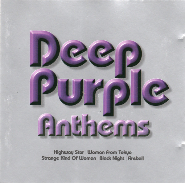 Deep Purple Anthems Vinyl