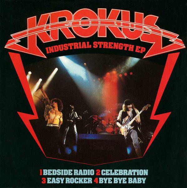 Krokus  Industrial Strength EP Vinyl