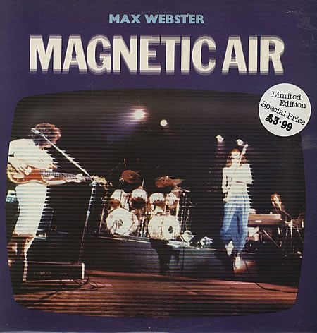 Webster, Max Magnetic Air Vinyl