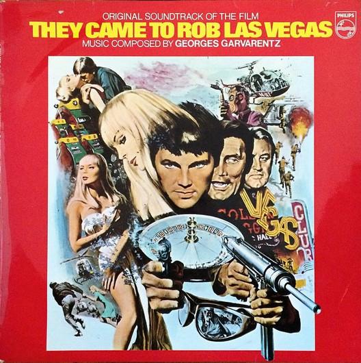 More Images  Georges Garvarentz They Came To Rob Las Vegas (Original Soundtrack)
