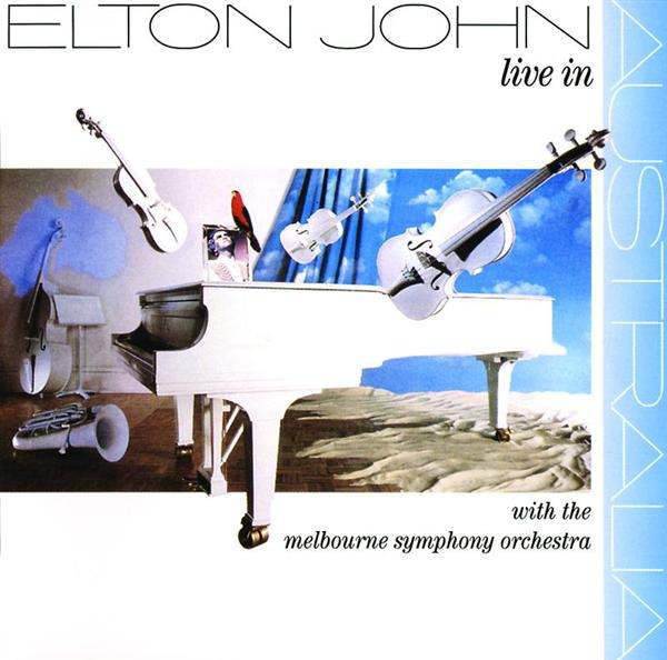 Elton John Live In Australia With The Melbourne Symphony Orchestra CD