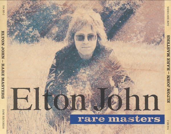 Elton John Rare Masters CD