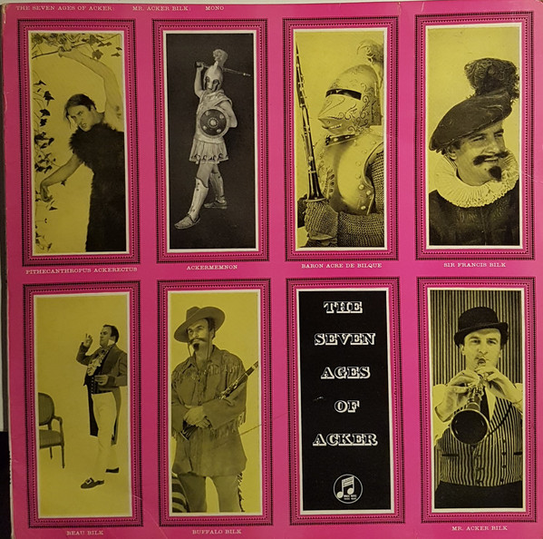 Mr. Acker Bilk And His Paramount Jazz Band The Seven Ages Of Acker Vinyl