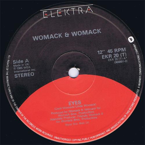 Womack & Womack Eyes Vinyl