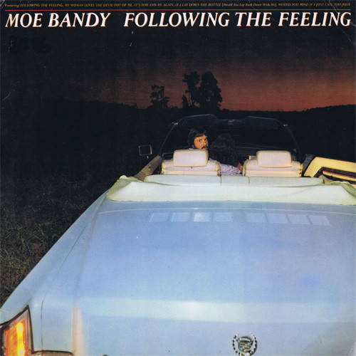 Moe Bandy Following The Feeling Vinyl