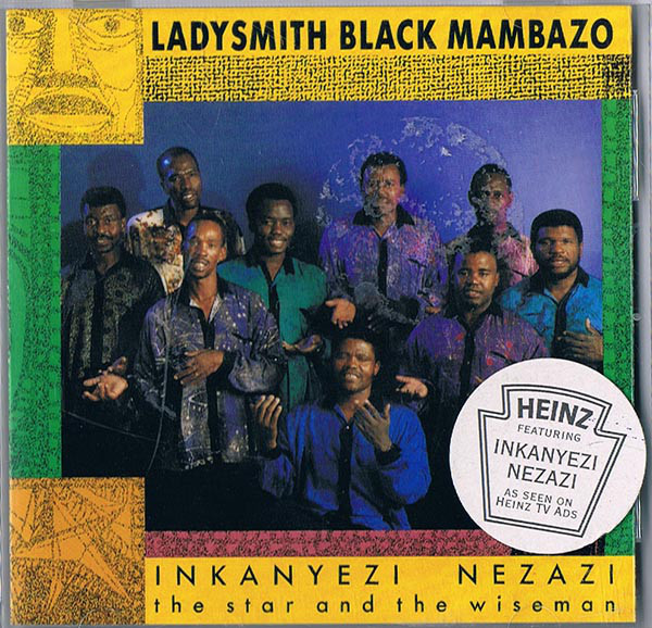 Ladysmith Black Mambazo Inkanyezi Nezazi CD