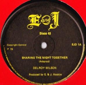 Delroy Wilson Sharing The Night Together Vinyl