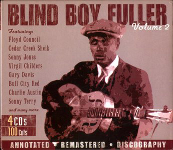Fuller, Blind Boy Volume 2 Vinyl