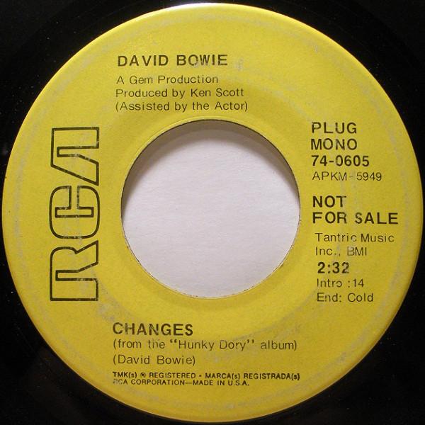 Bowie, David Changes Vinyl