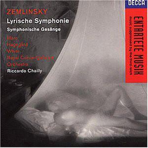 Zemlinsky - Marc, Hagegard, White, Royal Concertgebouw Orchestra, Riccardo Chailly Lyrische Symphonie · Symphonische Gesänge Vinyl