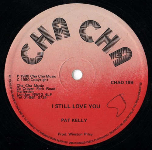 Pat Kelly There Comes A Time / I Still Love You Vinyl