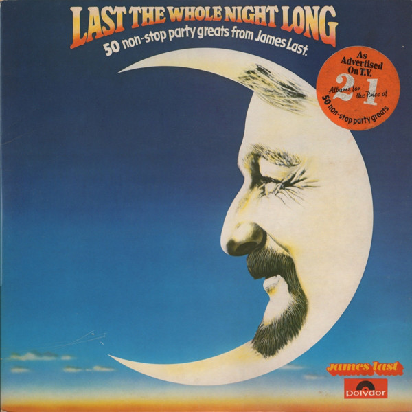 Last, James Last The Whole Night Long: 50 Non-Stop Party Greats From James Last. Vinyl