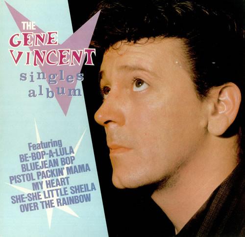 Gene Vincent The Gene Vincent Singles Album - MONO Vinyl