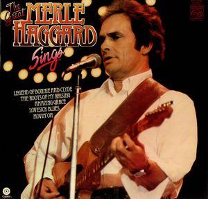 Haggard, Merle The Great Merle Haggard Sings Vinyl