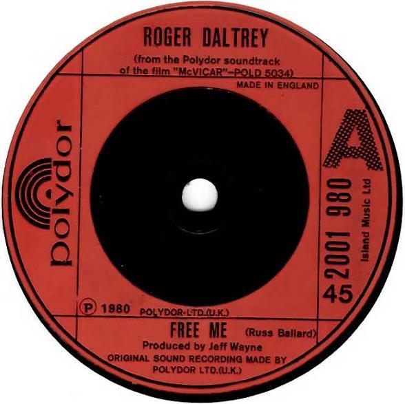 Daltrey, Roger Free Me Vinyl