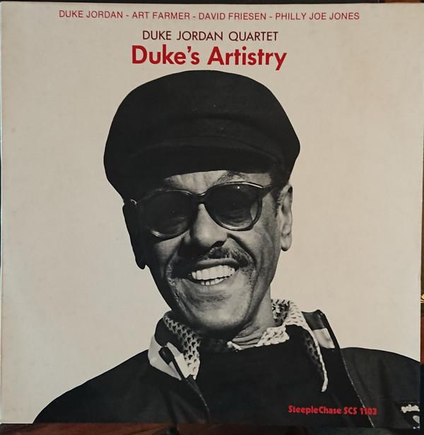 Duke Jordan Quartet Duke's Artistry Vinyl