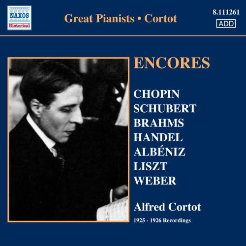 Alfred Cortot Encores CD