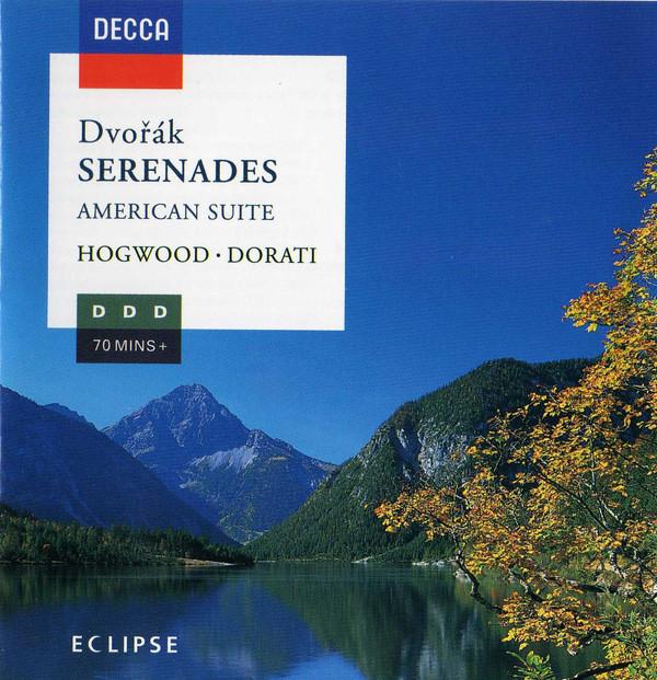 Dvorak - Hogwood, Dorati Serenades, American Suite Vinyl