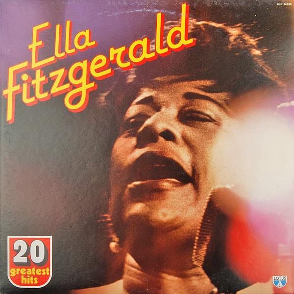 Fitzgerald, Ella 20 Greatest Hits Vinyl