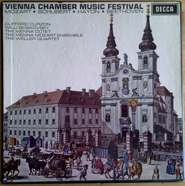 Mozart / Schubert / Haydn / Beethoven - Clifford Curzon, Willi Boskovsky Vienna Chamber Music Festival Vinyl