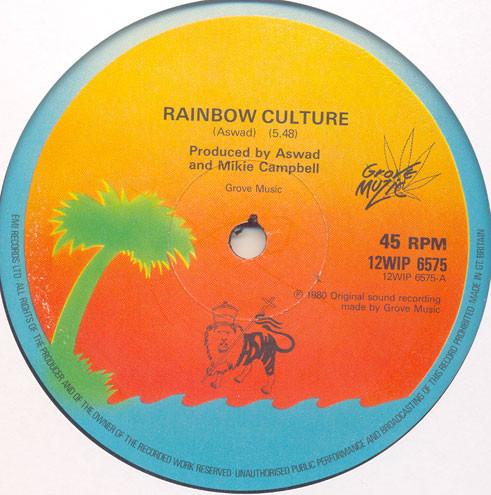 Aswad Rainbow Culture Vinyl