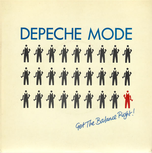 Depeche Mode Get The Balance Right