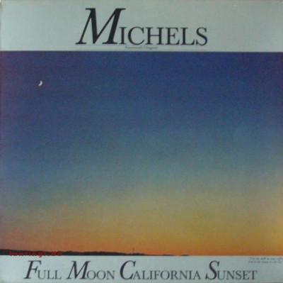 Michels Full Moon California Sunset