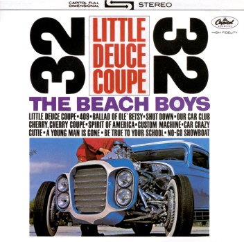 The Beach Boys Little Deuce Coupe