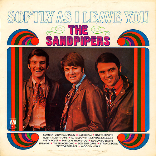 The Sandpipers Softly As I Leave You