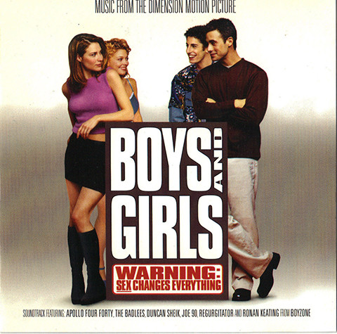 Various Boys And Girls : Music From The Dimension Motion Picture Vinyl