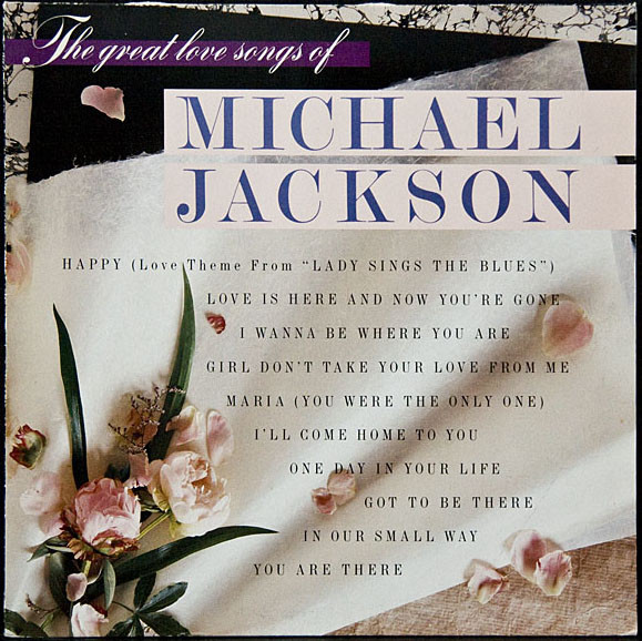Michael Jackson The Great Love Songs Of Michael Jackson