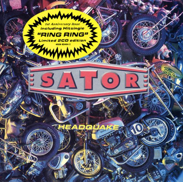 Sator Headquake CD