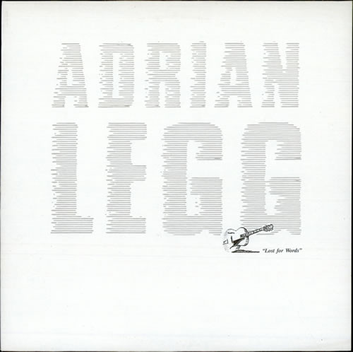 Legg, Adrian Lost For Words